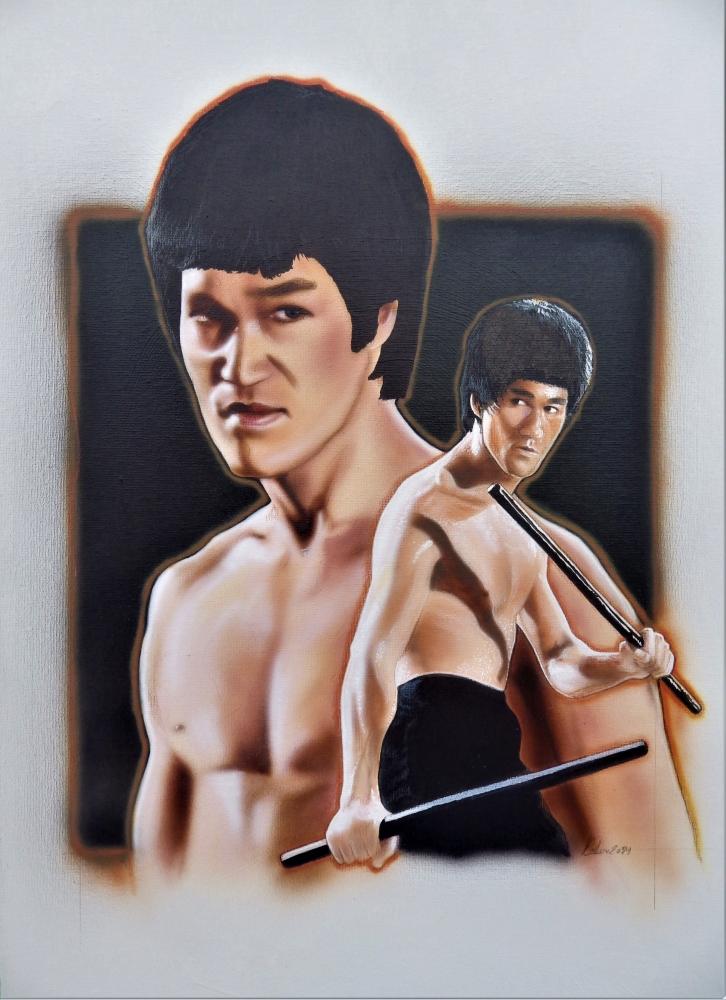 Bruce Lee par stephane014